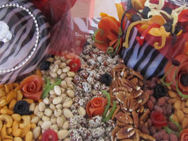 Dried Fruit and nut  tray - 1