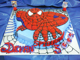 cake Spiderman theme
