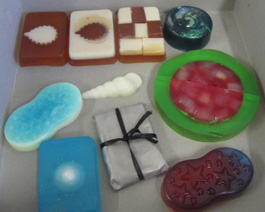 soaps made by students